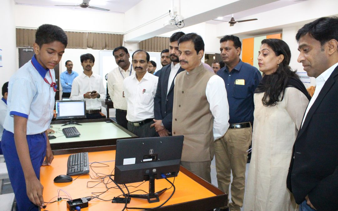 Visit of Dr. Ranjit Patil – Minister of Education (State Minister)