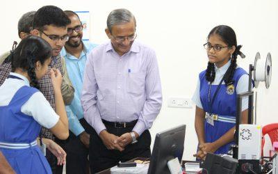 Visit by Mr. Sarda – Former HoD IIT Mumbai