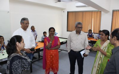 Visit by Mr. Francis Joseph